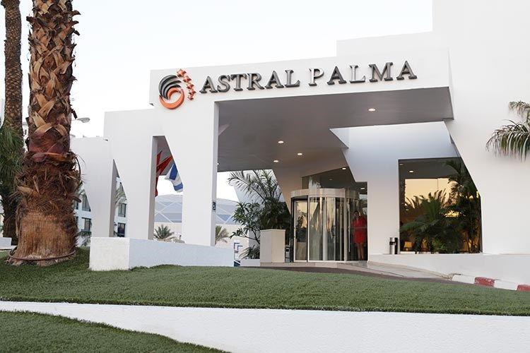 אסטרל פאלמה (מרינה) - הכניסה