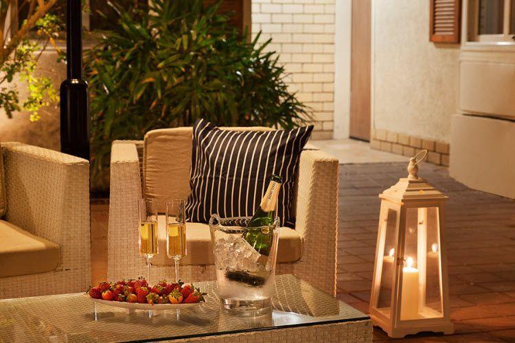 מלון אסטרל וילג' - האווירה במלון מבחוץ